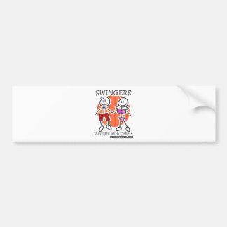 Pozo del juego de los libertinos junto etiqueta de parachoque