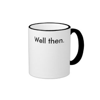 Pozo entonces (taza de café) taza de dos colores