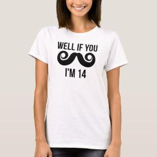 Pozo si usted bigote yo es 14 playera