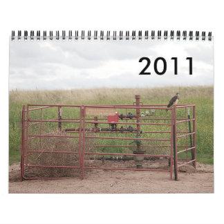 Pozos 2011 calendarios