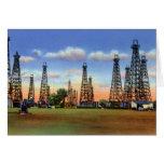 Pozos de petróleo del Topeka Kansas Tarjetas