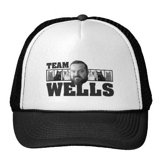 Pozos del equipo gorras de camionero