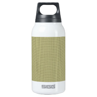 PP198 DECORATIVE NEUTRAL BROWNS CREAM LITTLE POLKA INSULATED WATER BOTTLE