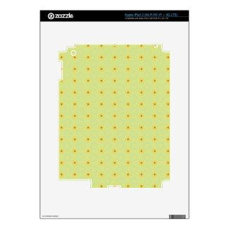 PP2 LIGHT PISTACHIO GREEN LITTLE POLKADOT POLKA DO SKINS FOR iPad 3
