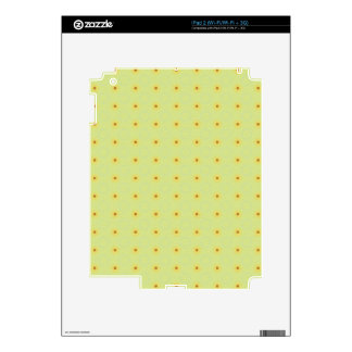 PP2 LIGHT PISTACHIO GREEN LITTLE POLKADOT POLKA DO SKIN FOR iPad 2