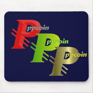 ppcoin red mouse pads