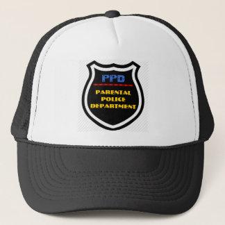 PPD - Parental Police Department Badge Cap