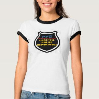 PPD - Parental Police Department Badge T-Shirt