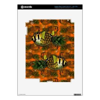 pppfff!!! pineapple puffer [ph]ish iPad 3 skin