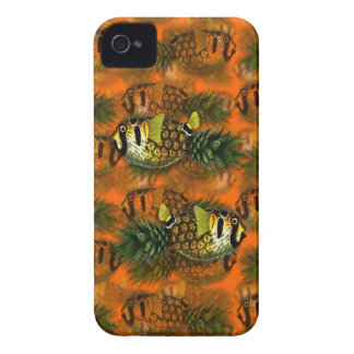 pppfff!!! pineapple puffer [ph]ish iPhone 4 Case-Mate case