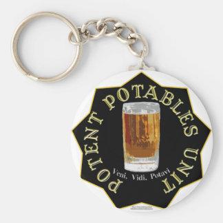 PPU (Potent Potables Unit) (black) Keychain