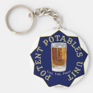 PPU (Potent Potables Unit) (blue) Key Chains
