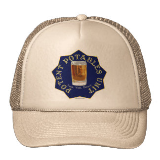 PPU (Potent Potables Unit) (blue) Mesh Hats