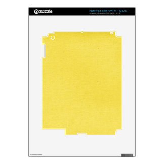 PPY-solid-yellow YELLOW BACKGROUND TEMPLATE TEXTUR iPad 3 Skin