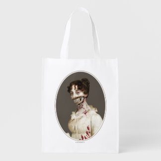 PPZ Cover Zombie Grocery Bag