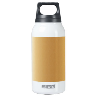 Pr103 GOLDEN GLEAM SHINY BACKGROUNDS TEMPLATES DIG 10 Oz Insulated SIGG Thermos Water Bottle