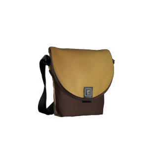 Pr103 GOLDEN GLEAM SHINY BACKGROUNDS TEMPLATES DIG Courier Bag