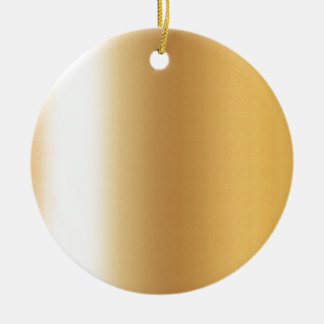 Pr103 GOLDEN GLEAM SHINY BACKGROUNDS TEMPLATES DIG Double-Sided Ceramic Round Christmas Ornament