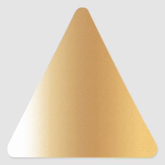 Pr103 GOLDEN GLEAM SHINY BACKGROUNDS TEMPLATES DIG Triangle Sticker