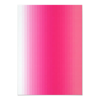 Pr103 PINKS GIRLY GRADIENTS GLEAM SHINY BACKGROUND 5x7 Paper Invitation Card