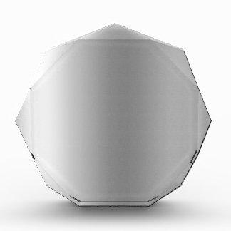 Pr103 SILVER GLEAM SHINY BACKGROUNDS TEMPLATES DIG Acrylic Award