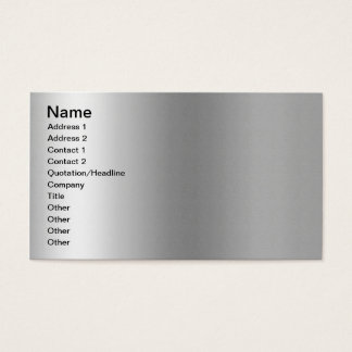 Pr103 SILVER GLEAM SHINY BACKGROUNDS TEMPLATES DIG Business Card