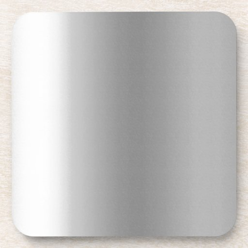 Pr103 SILVER GLEAM SHINY BACKGROUNDS TEMPLATES DIG Drink Coasters