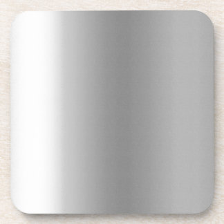 Pr103 SILVER GLEAM SHINY BACKGROUNDS TEMPLATES DIG Drink Coaster