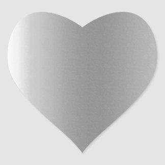 Pr103 SILVER GLEAM SHINY BACKGROUNDS TEMPLATES DIG Heart Sticker