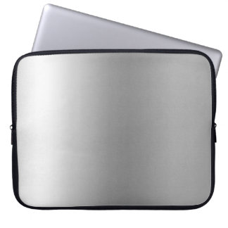 Pr103 SILVER GLEAM SHINY BACKGROUNDS TEMPLATES DIG Laptop Computer Sleeves