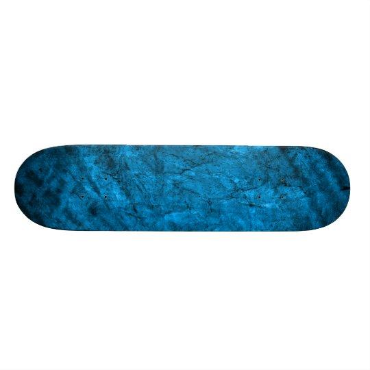 Pr 090 MAGICAL FANTASY BLUE TEXTURES SPACE DIGITAL Skateboard Deck