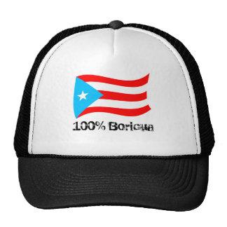 PR 100% Boricua Hat
