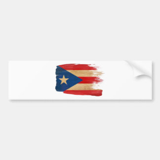 PR Flag copy.png Bumper Sticker