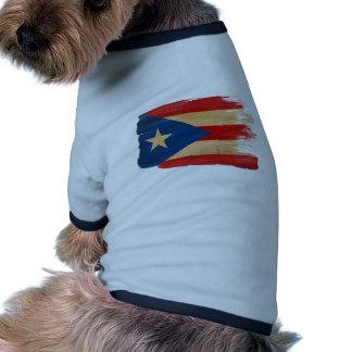 PR Flag copy.png Pet Tshirt