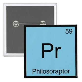 Pr - Philosoraptor Chemistry Element Symbol Meme T Buttons