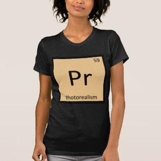 Pr - Photorealism Chemistry Periodic Table Symbol Tshirts