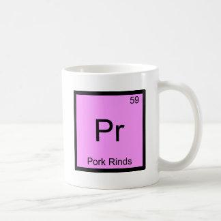Pr - Pork Rinds Funny Chemistry Element Symbol Tee Coffee Mug