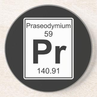 Pr - Praseodymium Coaster