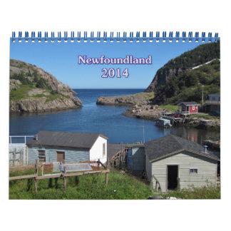 PR Prints Newfoundland Calendar 2014