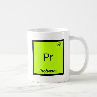 Pr - Professor Funny Chemistry Element Symbol Tee Classic White Coffee Mug