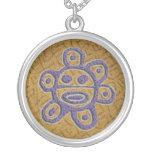 PR sun necklace #1 textured