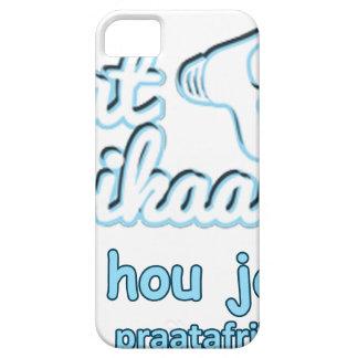 Praat-Afikaans-Of-Hou-Jou-Bek iPhone SE/5/5s Case