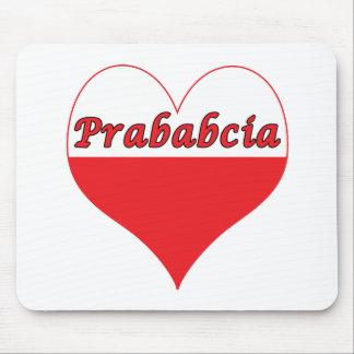 Prababcia Polish Heart Mouse Pad