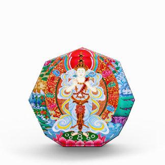 Prabhutaratna Buddha Cool oriental Padmakumara Acrylic Award