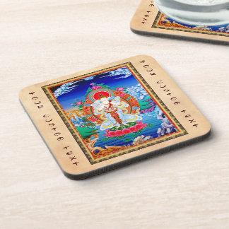 Prabhutaratna Buddha Cool oriental Padmakumara Coaster