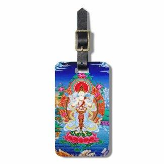Prabhutaratna Buddha Cool oriental Padmakumara Tag For Luggage