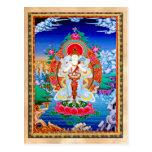 Prabhutaratna Buddha Cool oriental Padmakumara Postcard