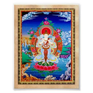 Prabhutaratna Buddha Cool oriental Padmakumara Posters