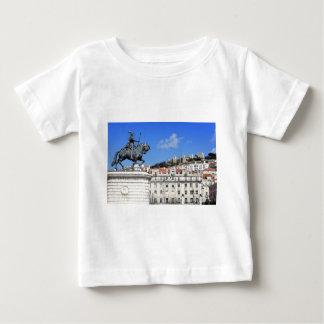 Praca da Figueira, Lisbon, Portugal Baby T-Shirt