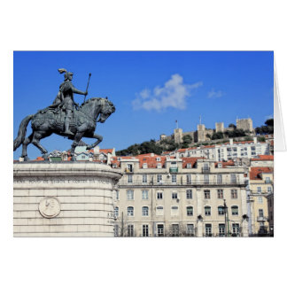 Praca da Figueira, Lisbon, Portugal Card